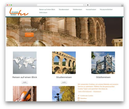 Customizr Pro best WordPress theme - lfw-studienreisen.de