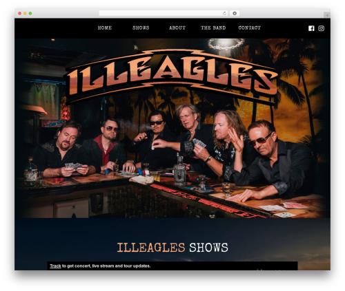 Deep best WordPress theme - illeaglesband.com