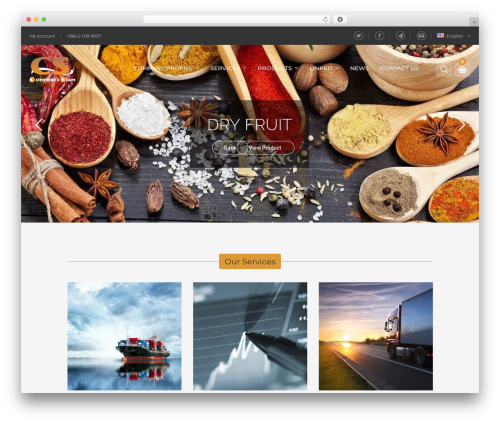 KuteShop WordPress ecommerce template - commercesiam.co.th
