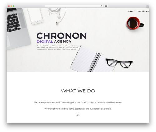 The SEO WordPress shopping theme - chronon.co.za