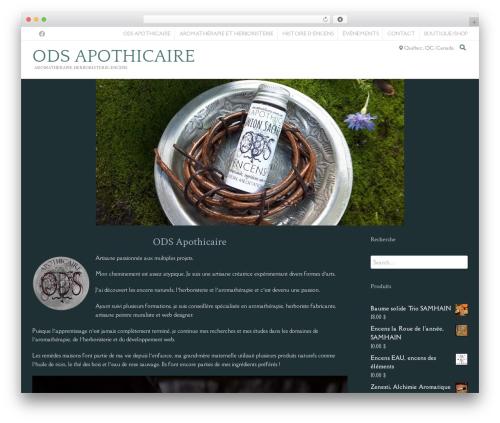 Theme WordPress Conica - ombradellasera-encens.com