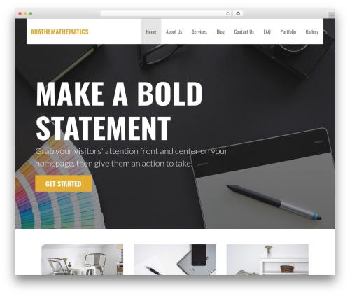 WordPress theme Primer - graviquad.net