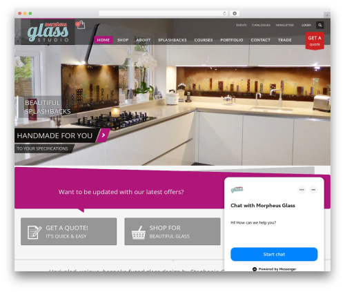 Free WordPress WP Customer Reviews plugin - morpheusglass.co.uk