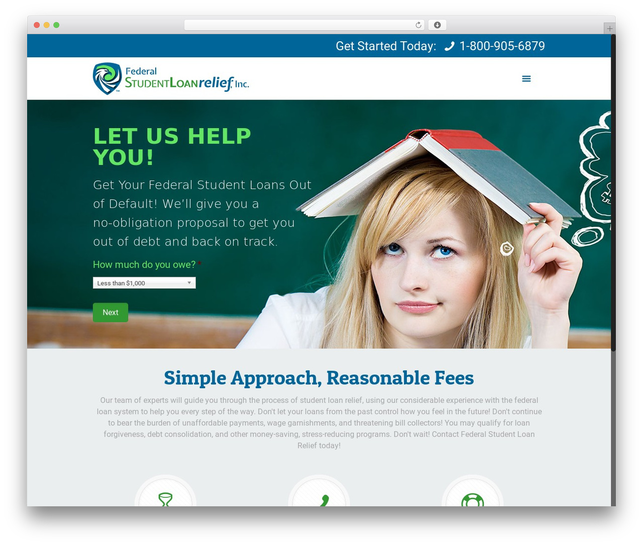 Betheme WordPress theme - fedslrelief.com