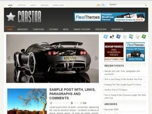 CarStar WordPress theme