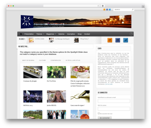 Made WordPress theme - feminin-mascul1.fr