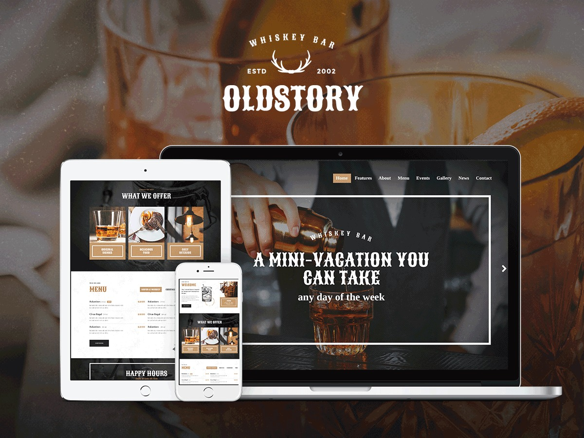 OldStory Child top WordPress theme