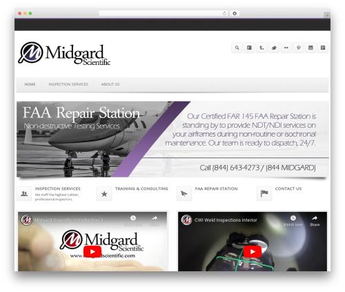Output | Responsive Multi-Purpose WP Theme company WordPress theme - midgardscientific.com