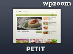 Petit WordPress blog template