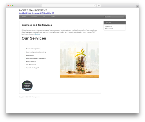 Silverclean Lite WordPress template free download - mckeemanagement.com