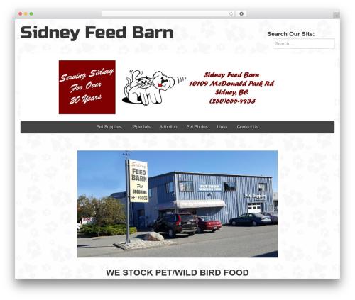 Template WordPress custom-sidney - feedbarn.ca