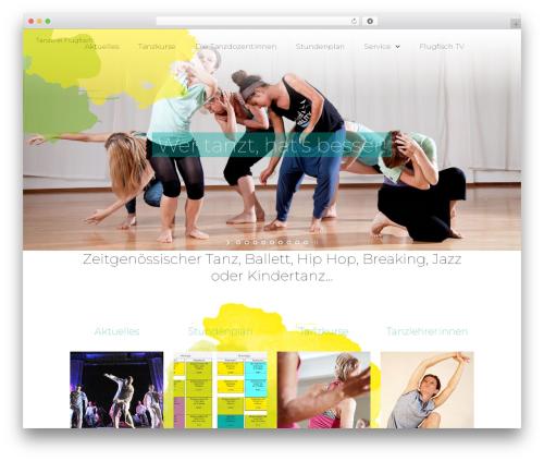 TheFox WP template - flugfisch.de