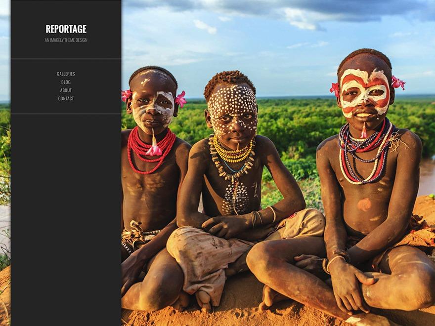 Theme WordPress Imagely Reportage