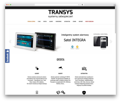Theme WordPress Subway - transys.pl