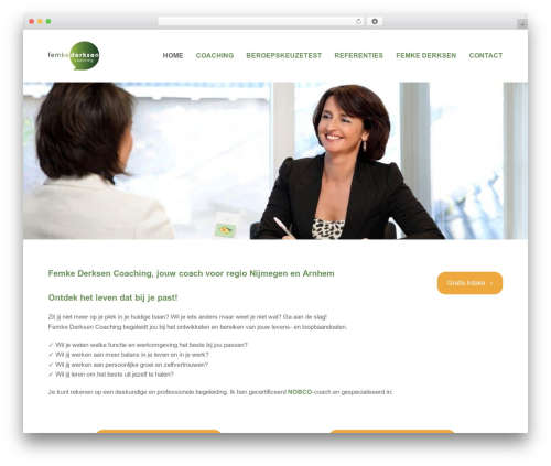 Total WordPress template free download - femkederksencoaching.nl