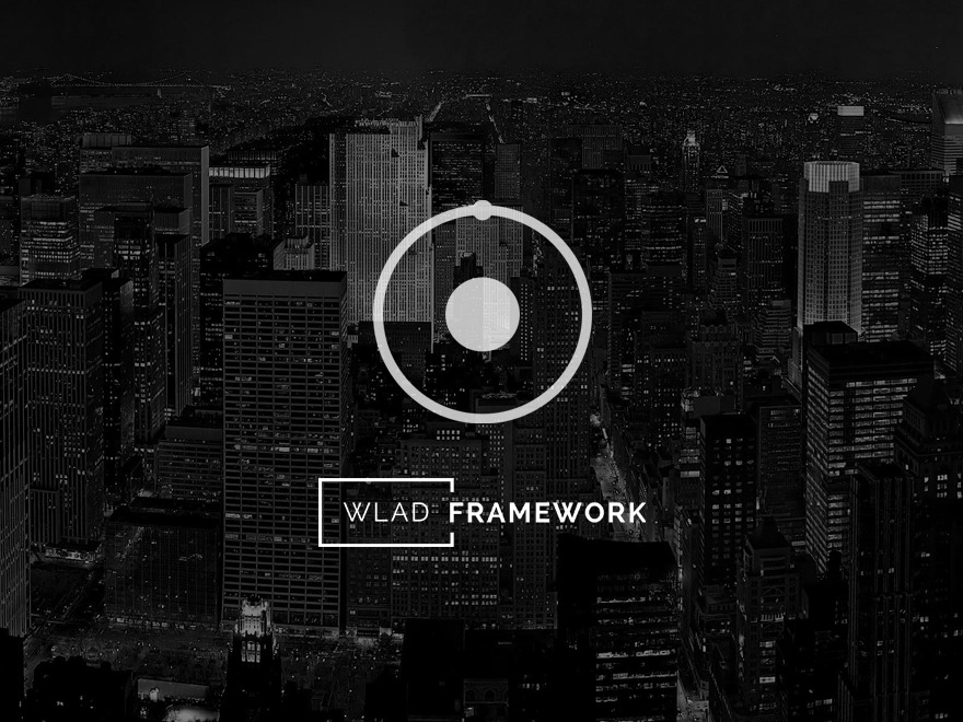 Wlad Framework theme WordPress