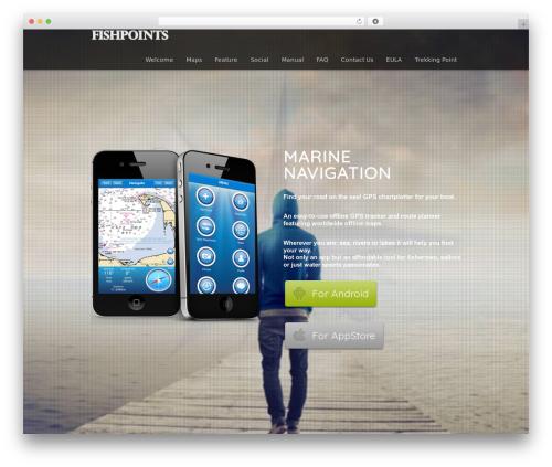 WordPress theme Encore - fishpoints.net