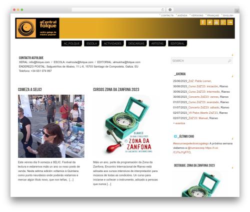 WordPress simple-instagram plugin - folque.com/01.140415wp