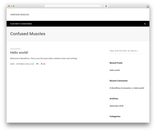 BlackerzOrg best WordPress template - confusedmuscles.com
