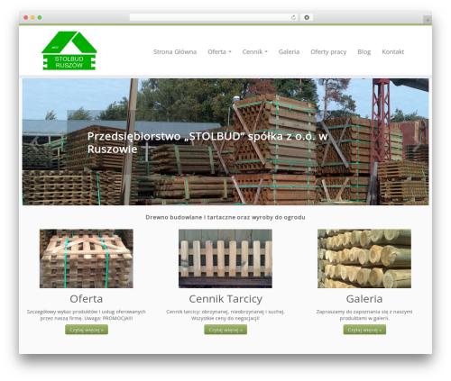 Customizr template WordPress free - stolbud-ruszow.pl