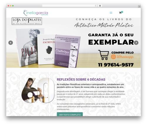 WordPress theme Betheme - ineliagarcia.com.br