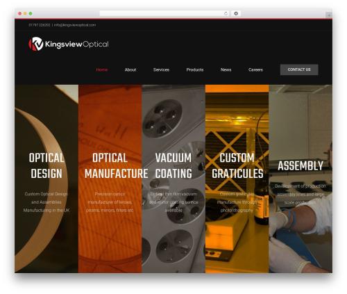 Avada business WordPress theme - kingsviewoptical.com