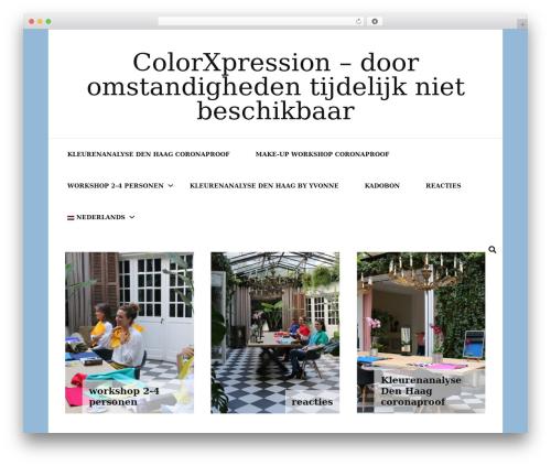 Blossom Fashion fashion WordPress theme - colorxpression.com