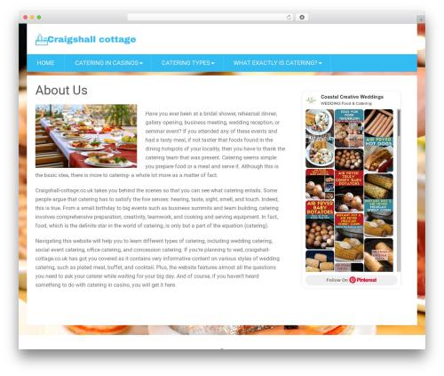 SociallyViral by MyThemeShop premium WordPress theme - craigshall-cottage.co.uk