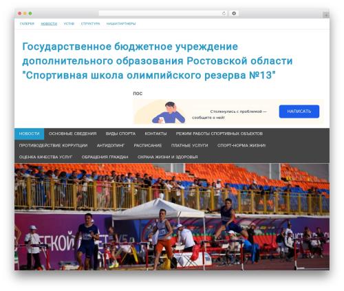 Template WordPress Merlin - sdusshor13.ru