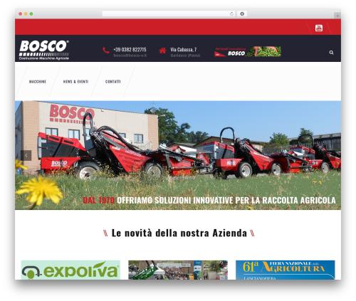 TM Transport theme WordPress - bosco-v.it