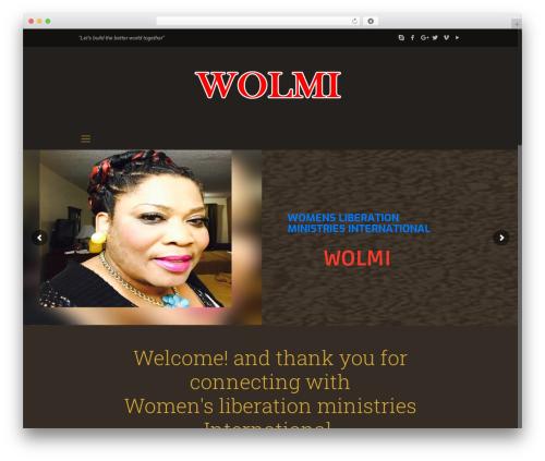 Betheme best WordPress template - womensliberationministriesint.org