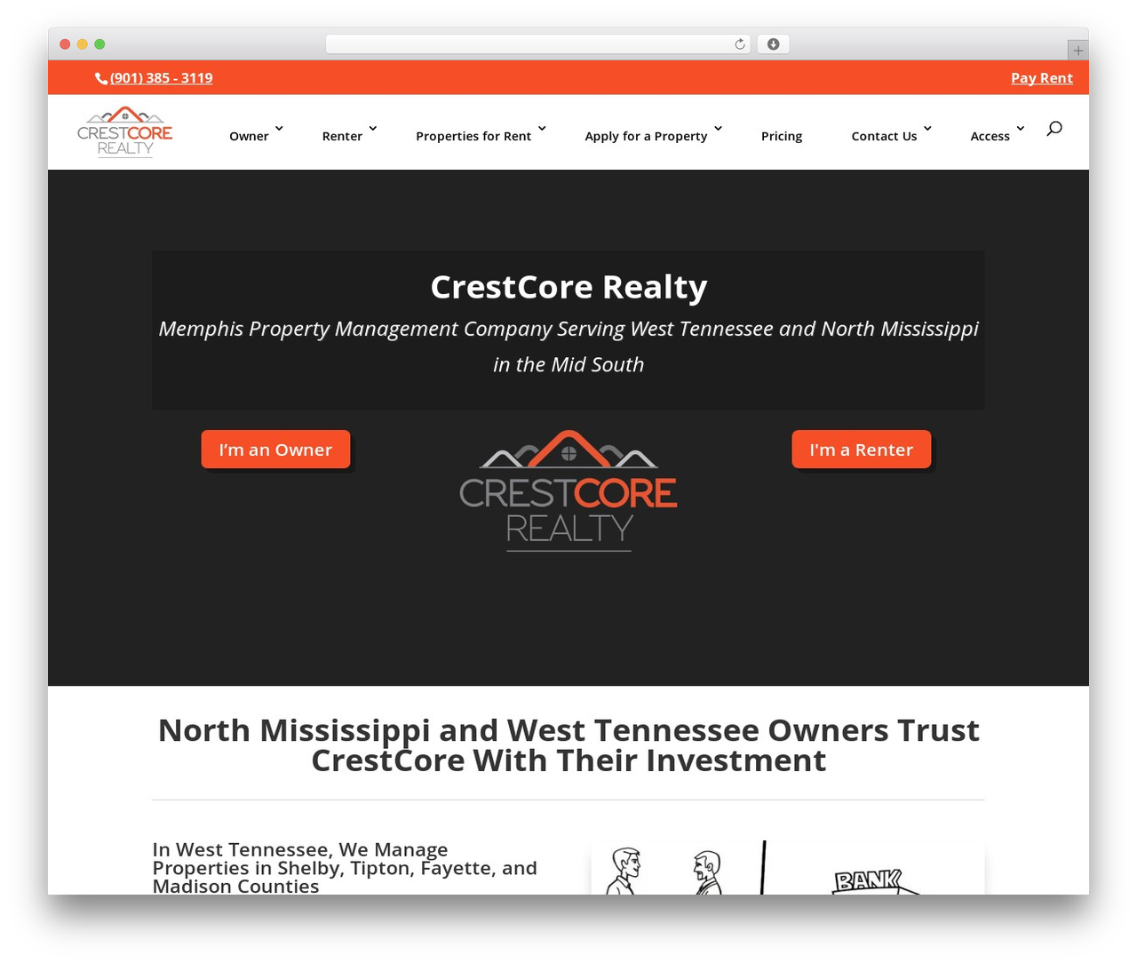 Divi WordPress website template - crestcore.com