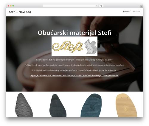Oren best free WordPress theme - obucarskimaterijalstefi.com