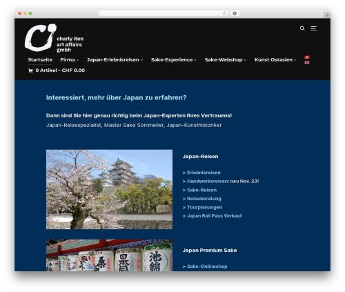 Template WordPress Inspiro - ci-artaffairs.ch