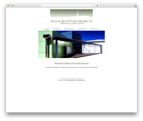 X WP template - blackmountainprojects.com