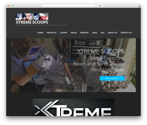 Ascension WordPress template - xtremescoops.com