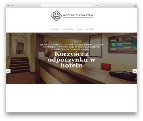 Swing Lite WordPress theme - domek-zawoja.pl