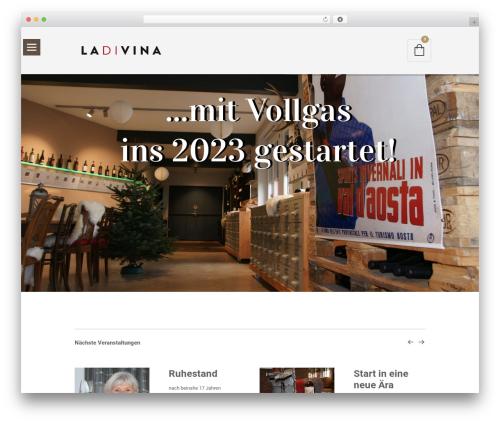 WordPress woocommerce_postfinancecw plugin - ladivina.ch