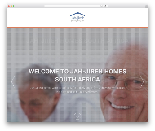 AccessPress Parallax free website theme - jah-jireh.co.za