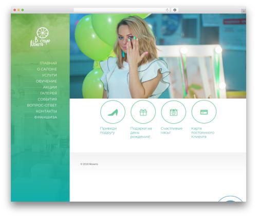 BeautySpot WordPress theme - vstilemohito.ru