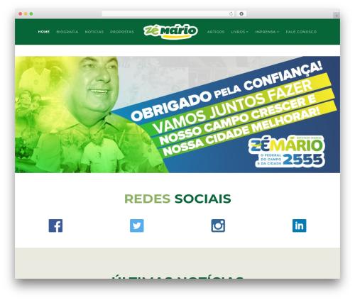 Template WordPress Politist - josemario.com.br