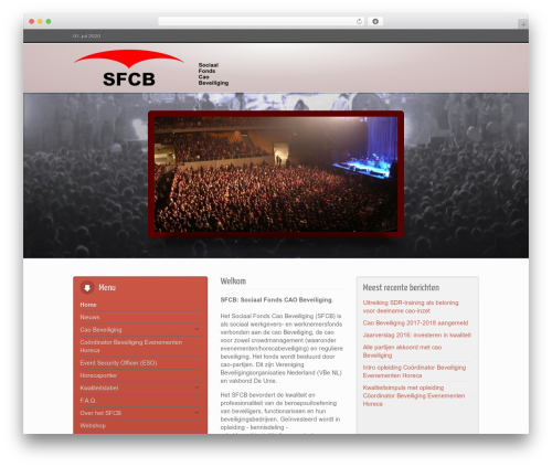 WordPress theme Inspire - sfcb.nl