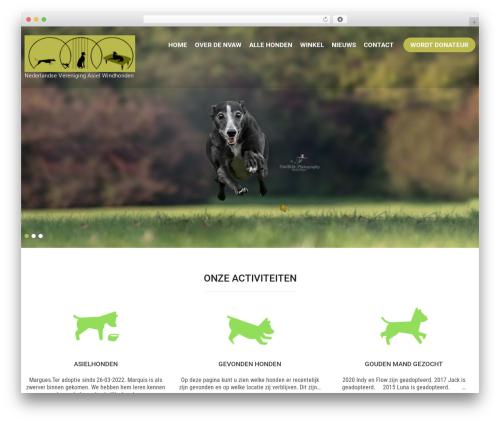 Pet Care theme WordPress - nvaw.nl