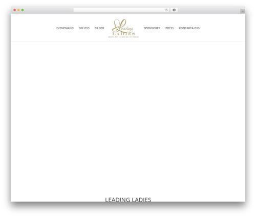WordPress cff-masonry plugin - leadingladiesevent.se