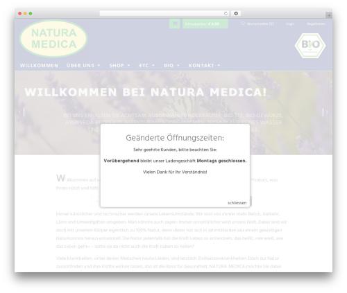 Free WordPress Subpagelister plugin - naturamedica.de