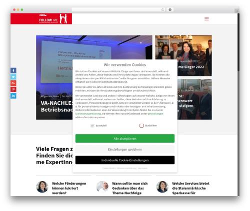 Best WordPress template Betheme - followme.nachfolgen.at