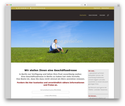 DI Basis � based on Divi 3.0.106 WP template - ihrbueroservice.de