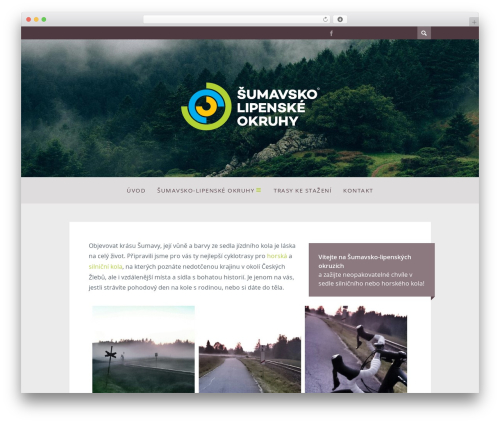WordPress template ST Squirrel - sumava.bike