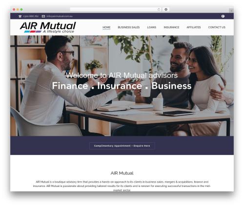 jupiter theme WordPress - airmutual.com