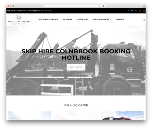 TheBuilt WordPress template - skiphirecolnbrook.com